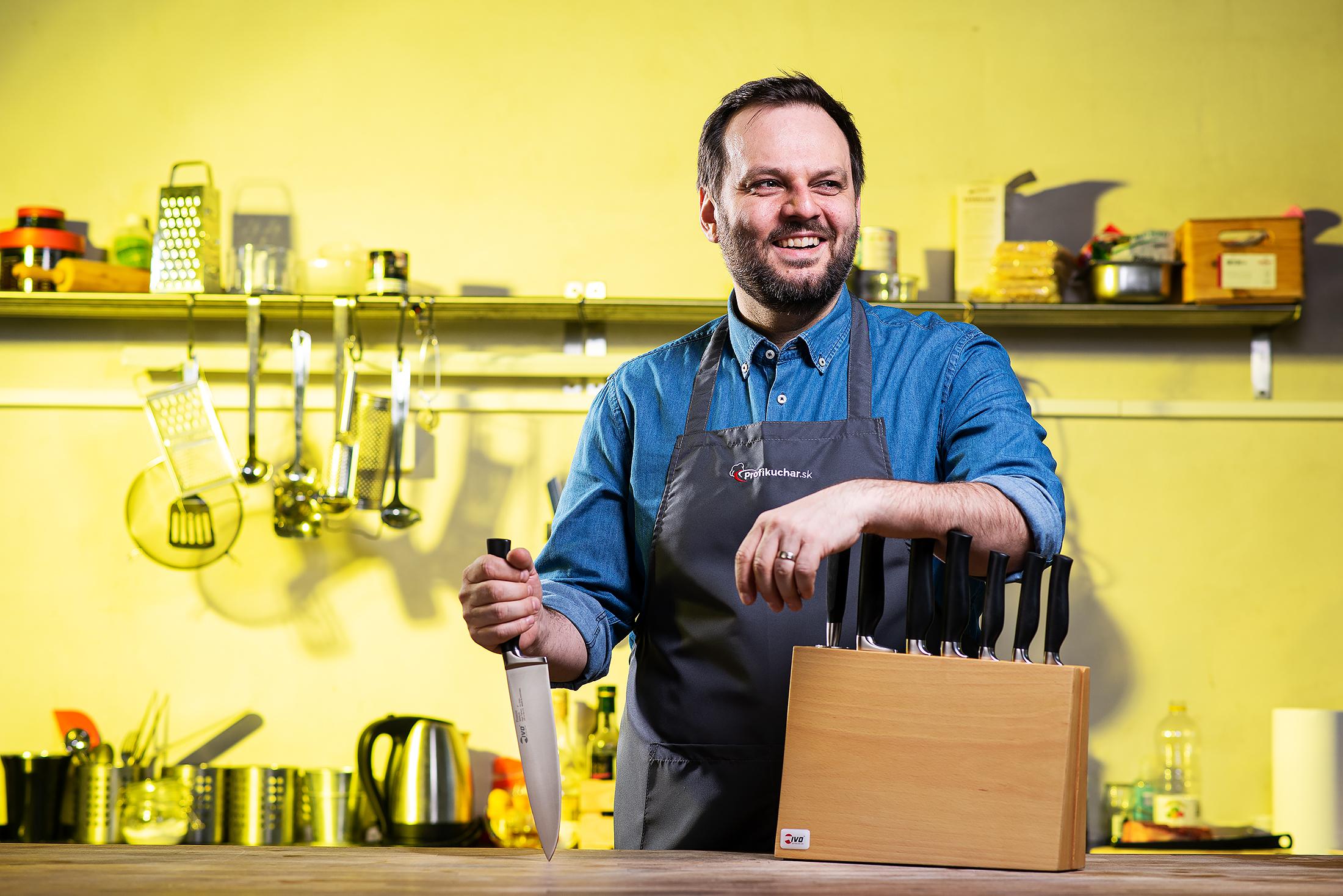 Junior odporúča kuchynské nože IVO Premier