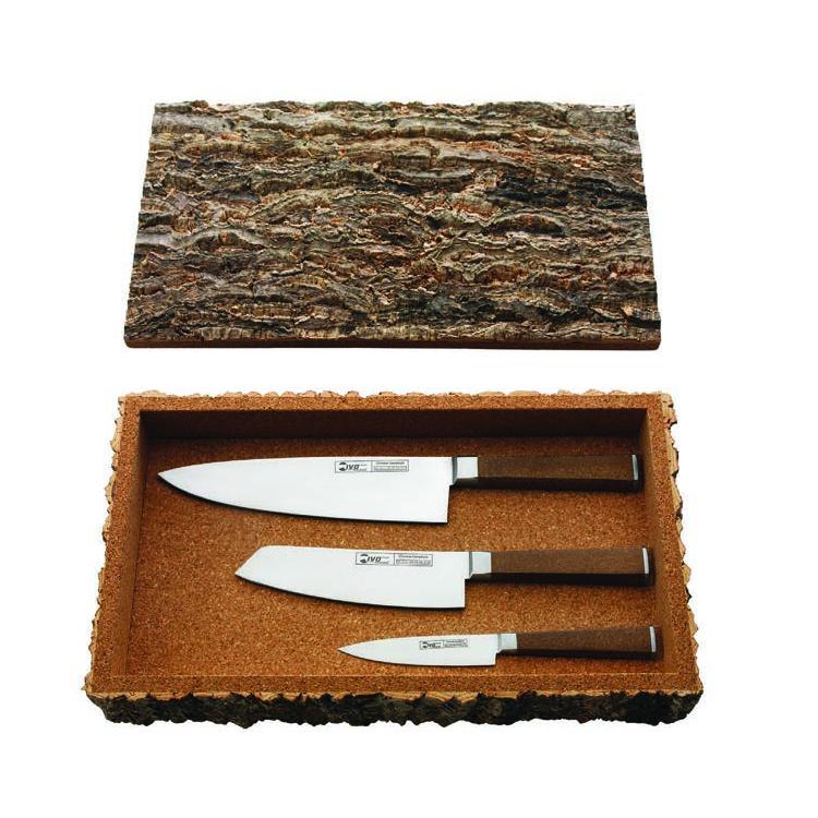 IVO Cork sada 3 ks nožov 33240