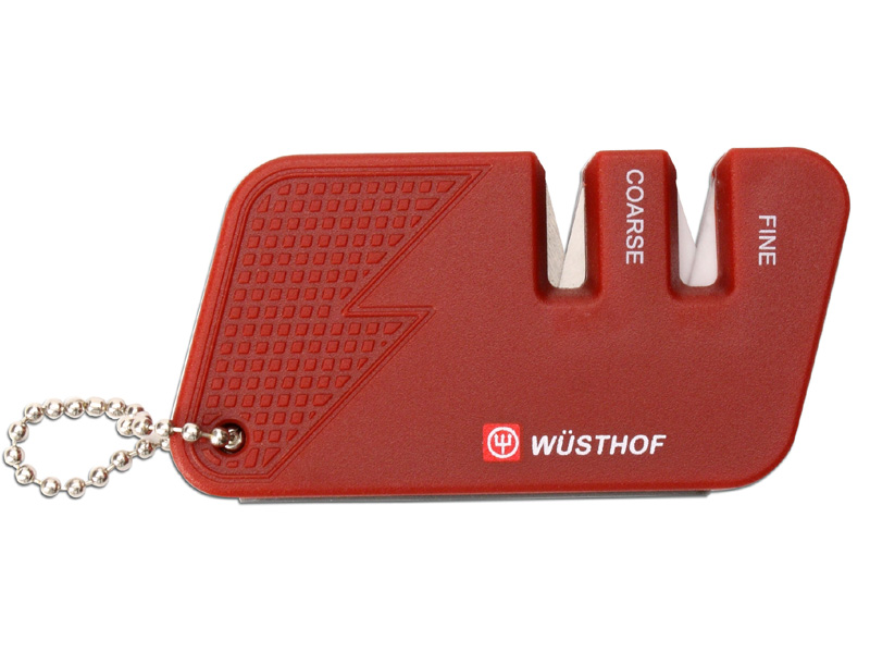 WüSTHOF Vrecková brúska Wüsthof červená - dvojstupňová 4342r
