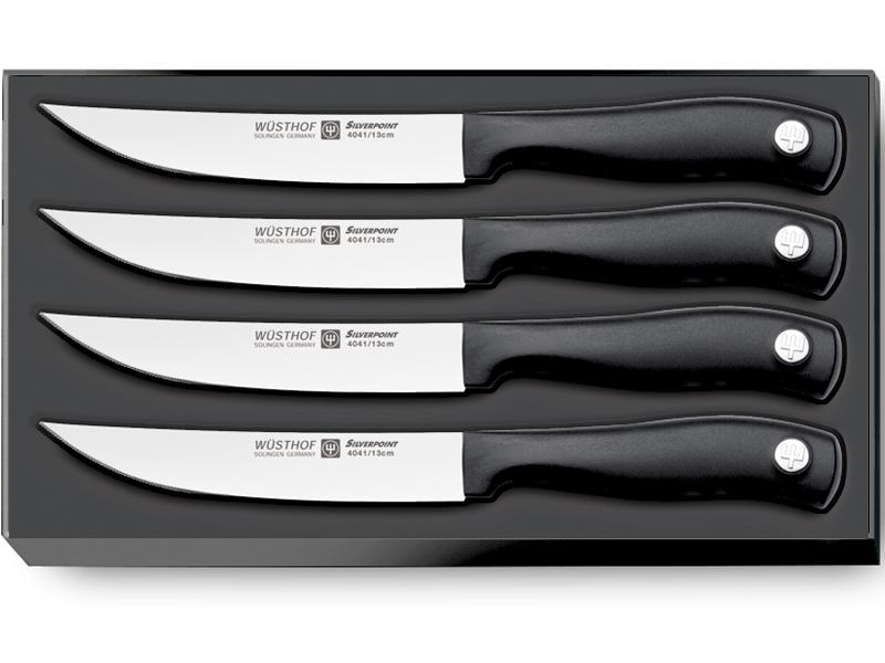 Wüsthof SILVERPOINT Sada steakových nožov 4 ks 9634