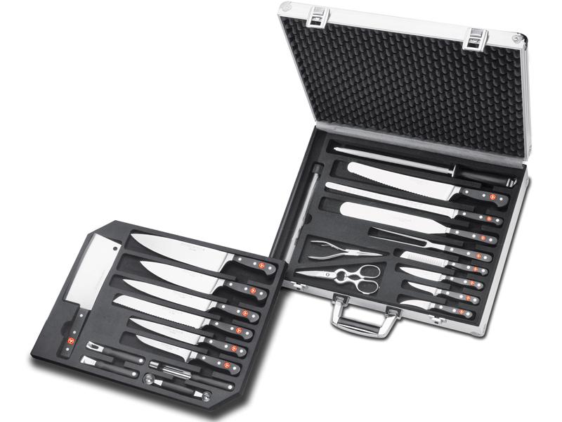 Wüsthof CLASSIC kuchársky kufrík s vybavením - 25 dielov 9774