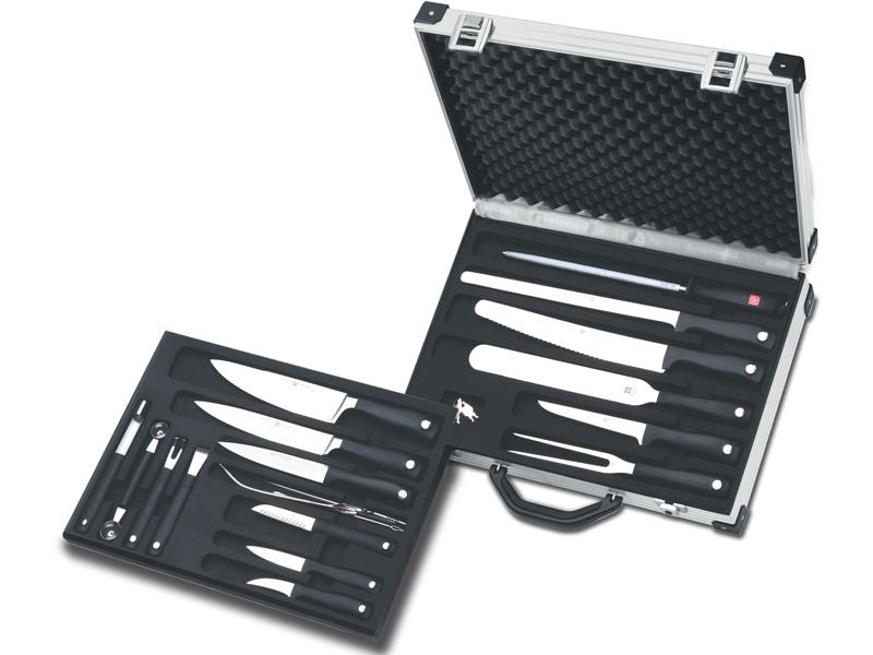 Wüsthof GRAND PRIX II Kuchársky kufrík s vybavením - 19 dielov 9771