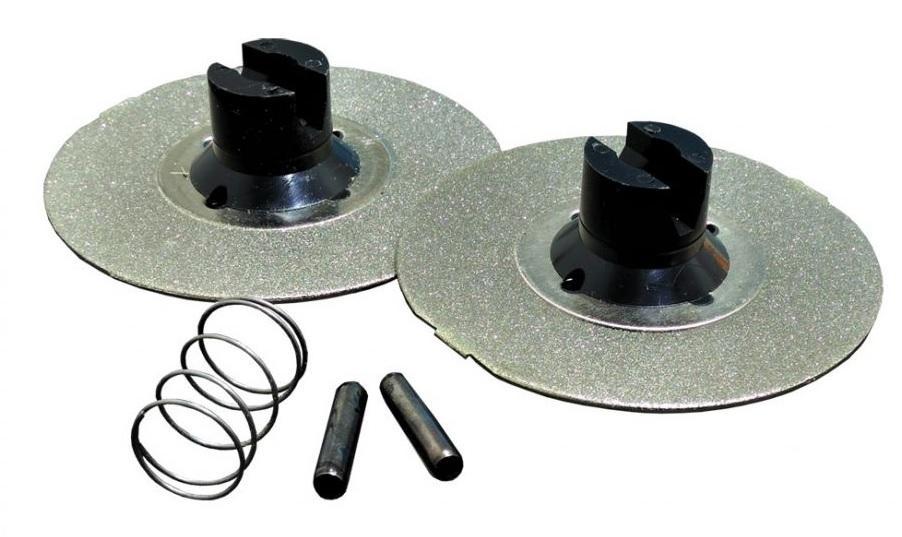 CHEFSCHOICE 1 pár diamantový brúsny kotúč stredný pre M120, M130, M320