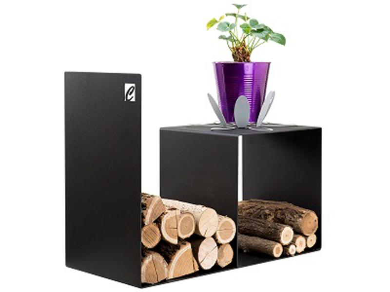 CAFDESIGN Zásobník na drevo nízký