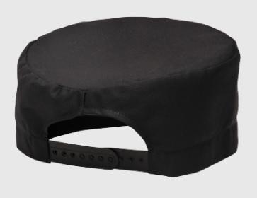 PORTWEST Kuchárska čiapka UNISEX - čierna