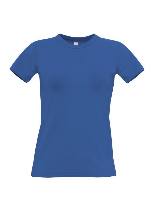 B&C Dámske tričko - modré XL