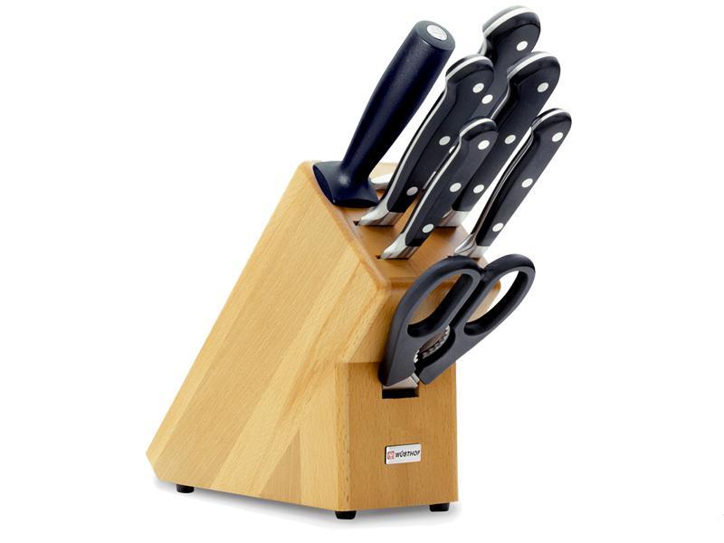 WÜSTHOF Blok s nožmi 7-dielny Wüsthof CLASSIC - svetlý 9835-200