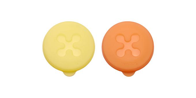 Tescoma viečka na jogurty PRESTO ø 8 cm, 2 ks