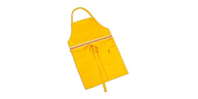 Tescoma kuchynská zástera PRESTO TONE žltá