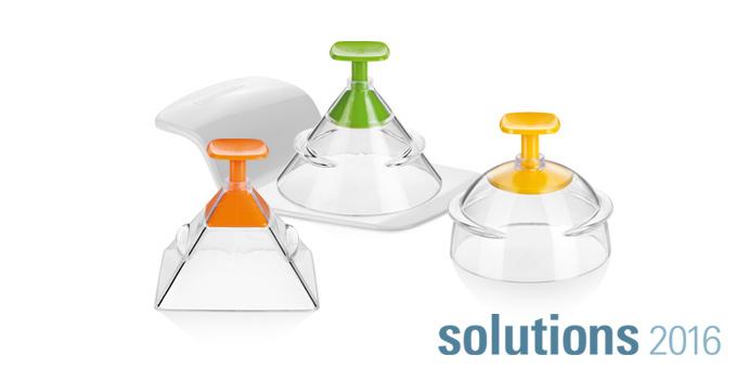 Tescoma 3D formičky na tvarovanie pokrmov PRESTO FoodStyle, 3 tvary