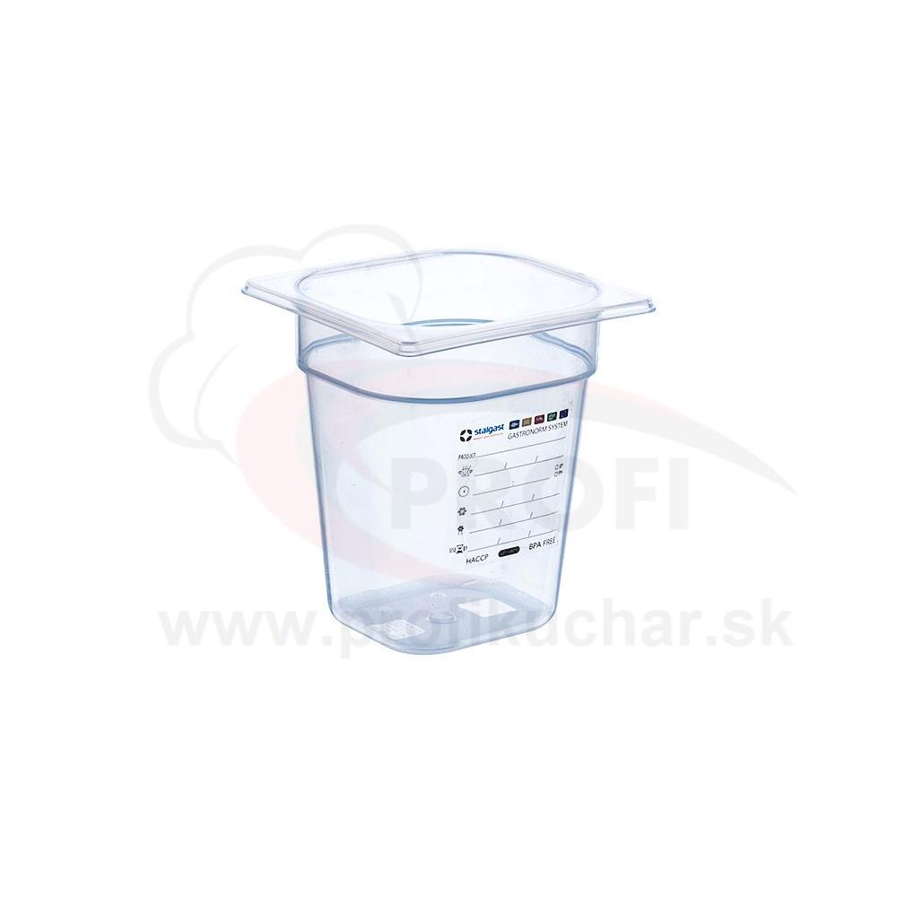 GN nádoba 1/6-200mm, polypropylénova