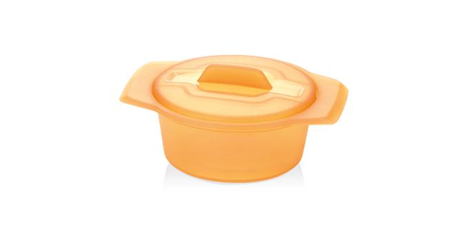 Tescoma miska FUSION Diet Revolution ø 12 cm oranžová