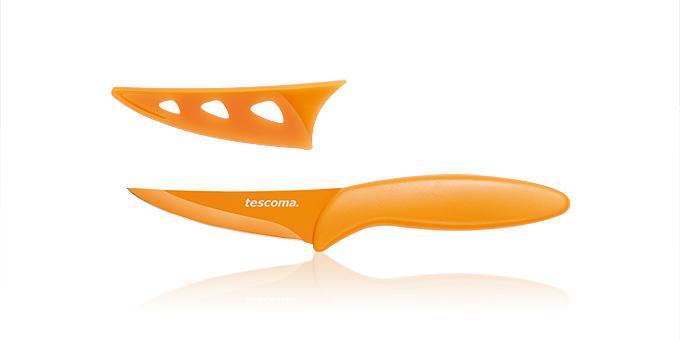 Tescoma antiadhézny nôž univerzálny PRESTO TONE 8 cm žltá