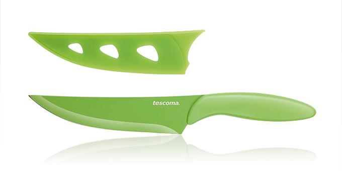 Tescoma antiadhézny nôž kuchársky PRESTO TONE 13 cm žltá