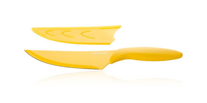Tescoma antiadhezny nôž kuchársky PRESTO TONE 17 cm žltá