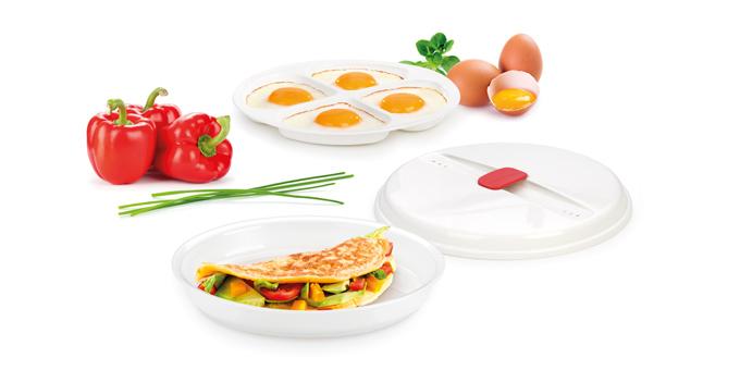 Tescoma miska na omelety a volské oká PURITY MicroWave