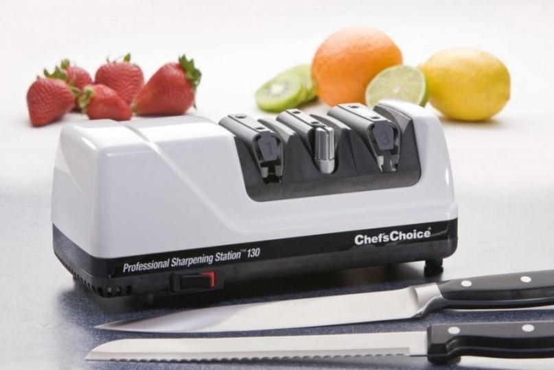 ChefsChoice elektrická brúska na nože 2-stupňová M130 Metalíza