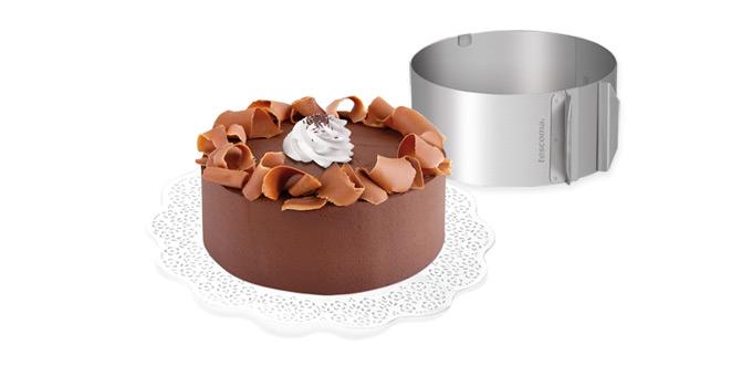 TESCOMA Nastaviteľná forma na tortu guľatá DELÍCIA