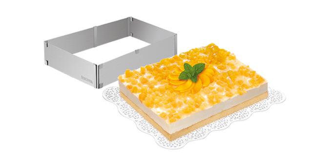 Tescoma nastaviteľná forma na tortu obdĺžníková DELÍCIA