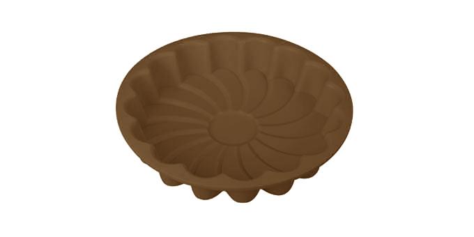 Tescoma forma na koláč - kvet TOP SILICONEø 22 cm žltá