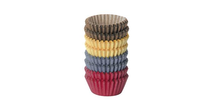 Tescoma cukrárske mini košíčky DELÍCIA, ø 4,0 cm, 200 ks, farebné