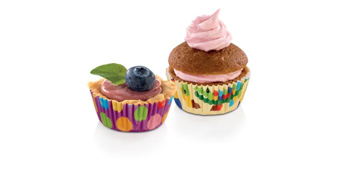 Cukrárske mini košíčky DELÍCIA ø 4 cm, 100 ks, pre deti