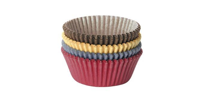 Tescoma cukrárske košíčky DELÍCIA, ø 6.0 cm, 100 ks, farebné
