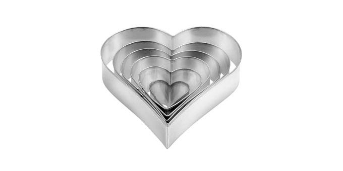 Tescoma vykrajovače - srdce DELÍCIA, 6 ks