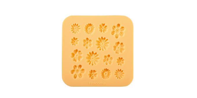 Tescoma silikónové formičky DELÍCIA DECO, kvetinky