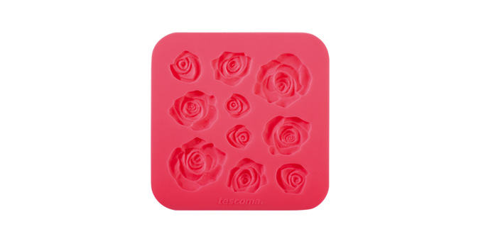 Tescoma silikónové formičky DELÍCIA DECO, ružičky