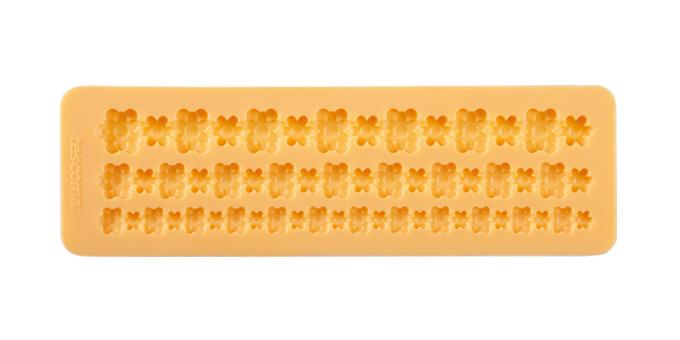 Tescoma silikónové formičky DELÍCIA DECO, bordúra s kvietkami