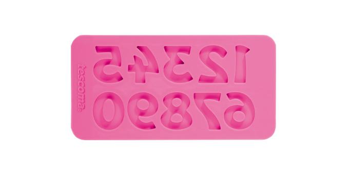 Tescoma silikónové formičky DELÍCIA DECO, čísla retro