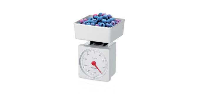 Kuchynské váhy ACCURA, 0.5 kg