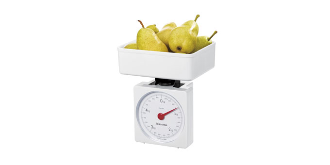Kuchynské váhy ACCURA, 5,0 kg