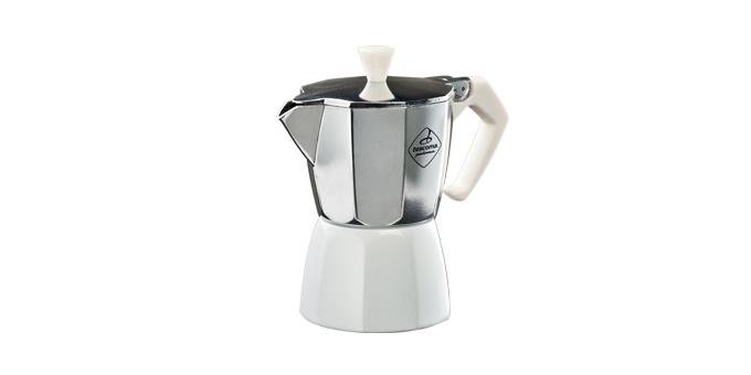 Tescoma kávovar PALOMA Colore, 3 šálky biela