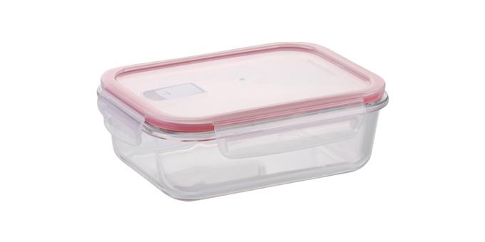 Tescoma dóza FRESHBOX Glass 1.0 l, obdĺžniková