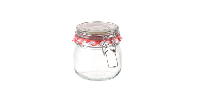 Tescoma zaváracie poháre s klipsou DELLA CASA 600 ml