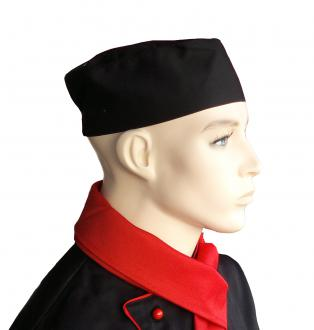 PROFIKUCHAR.SK Cool vent vzdušná kuchárska čiapka - rôzne farby Čierna,na suchý zips