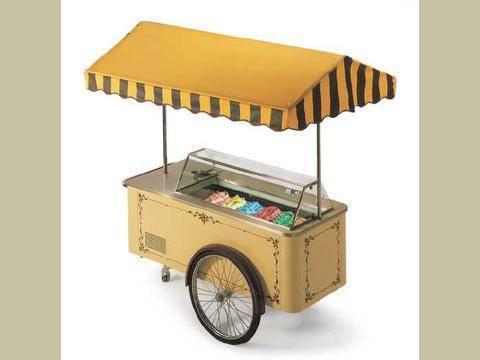 Zmrzlinový vozík ISA