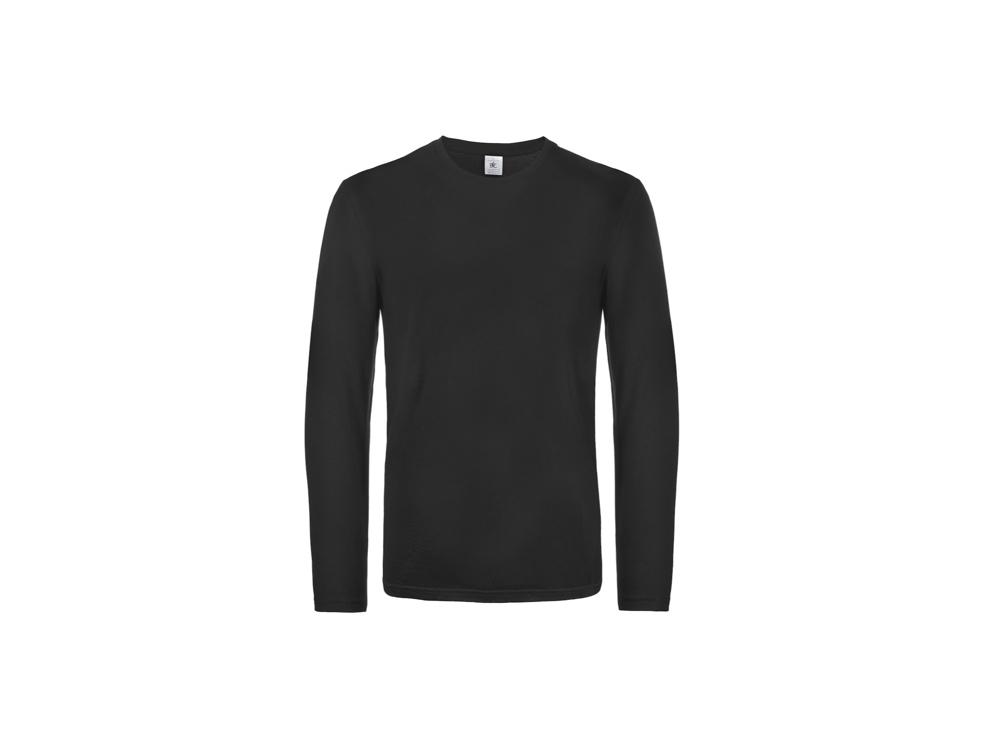 B&C Pánske tričko s dlhým rukávom - rôzne farby Červená,XXXL