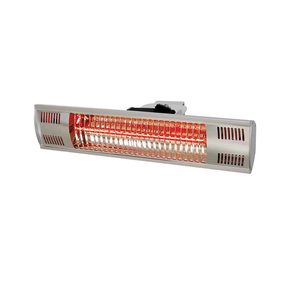 STALGAST Ohrevná lampa nástenná 45,5 x 9 x 10 cm
