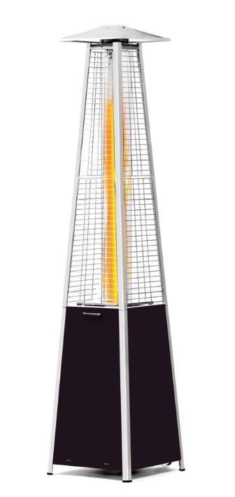 HENDI Ohrievač plynový PREMIUM- pyramída 420 x 420 x 2220 mm